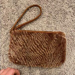 Patricia Nash fur wallet NEVER USED